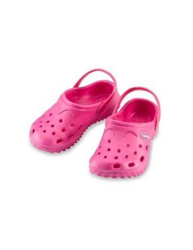 7848b23c3 Sandalias playa niños Aqua Sandals Iplay rosa-talla 25