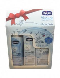 Chicco set de baño Natural Sensation