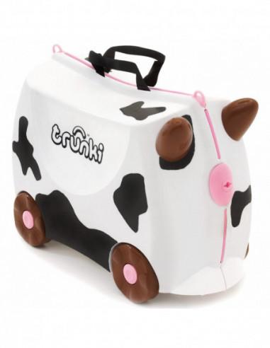 371960292 Maleta correpasillos barata Frieda vaca Trunki, un regalo para su hijo