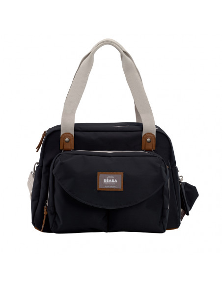 Béaba bolso cambiador Genève 2 Smart Colors Black Negro