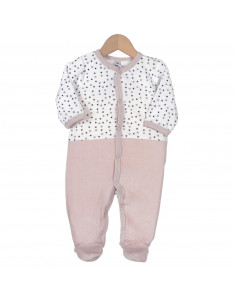 Trois Kilos Sept - Pijama terciopelo - 3M