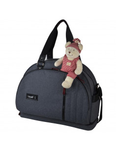 Baby on Board Bolso cambiador Weekend Team Smoke