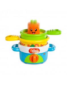 Bright Starts Nest'n Sing Pots, la batería de cocina
