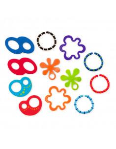 Oball 12 Linky Loops anillos de dentición