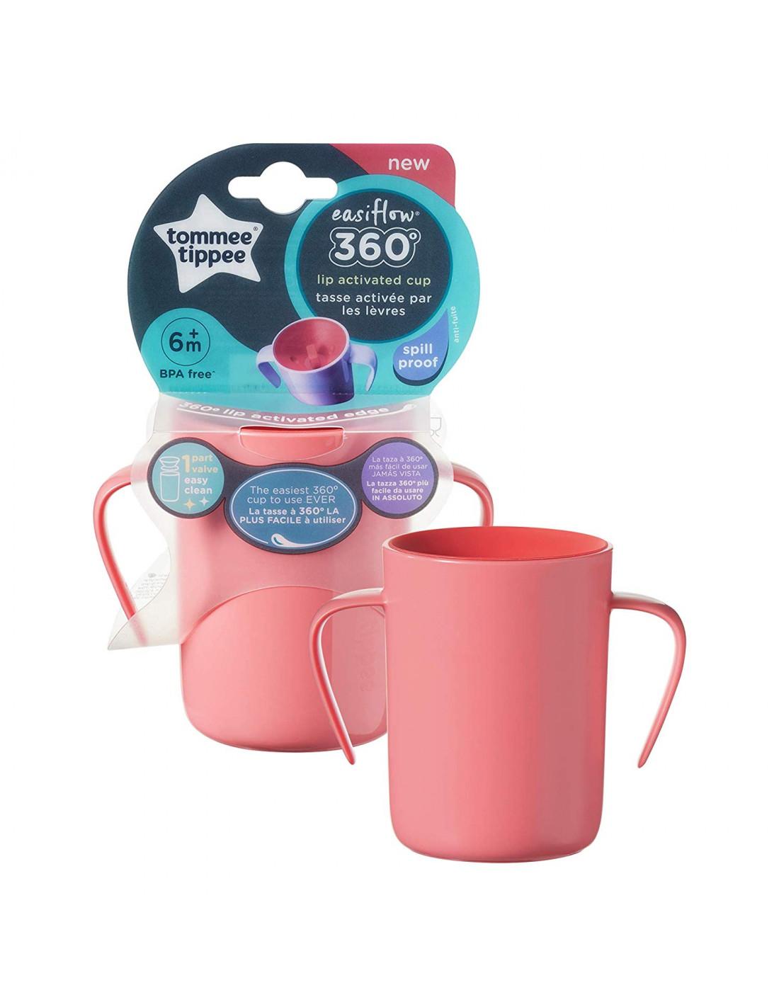 rosa 6m+ Tommee Tippee 44710981 Explora Easy Drink-Tasse