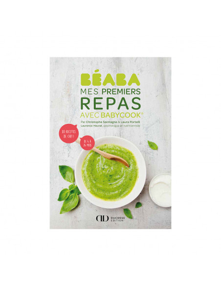 Beaba Libro Mes Premiers repas Babycook Version frances