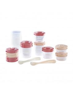 Beaba Pack primeras comidas Portion Clip cucharas