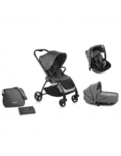 Be Cool Outback Crib One conjunto cochecito 3 piezas