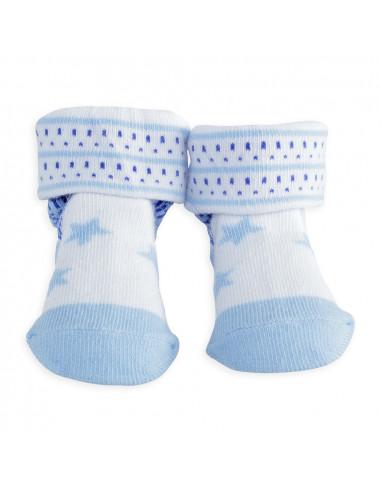 Trois Kilos Sept - Calcetines de bebé niño Estrella