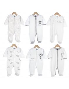 Trois Kilos Sept - 6 Pijamas Dors bien Y algodón unisex