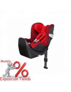 Cybex silla de auto Sirona M i-Size Mars Red - Outlet