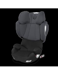 Cybex Solution Q2-fix tapizado silla de auto Phantom Grey en gris
