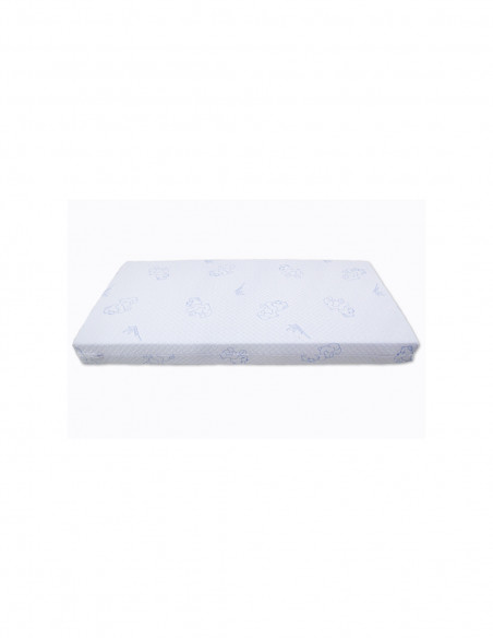 Colchón de espuma tejido Strech Aloe Vera