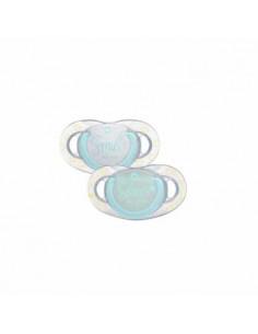Chupetes Dental safe - Silicona - Fluorescentes - Bébé Confort Smile Sleep (x2)