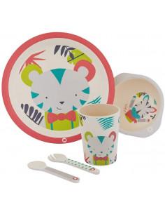 Set Vajilla para bebés Decor de Bébé Confort, 5 piezas