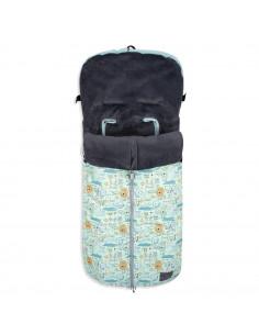 Saco para bebés de invierno para carrito universal don algodon