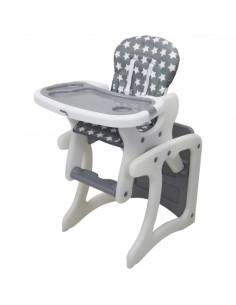 Trona convertible en mesa y silla