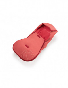 Concord Saco cubrepiés Hug/Driving Red rojo