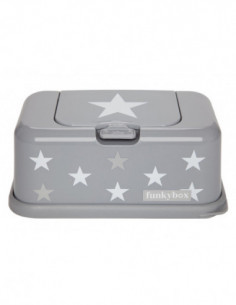 Funkybox dispensador toallitas Plata Estrella
