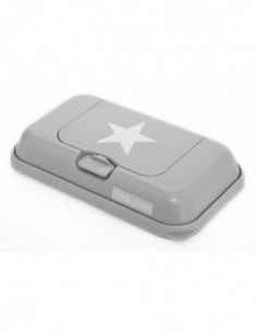 Funkybox To Go dispensador toallitas Plata Estrella